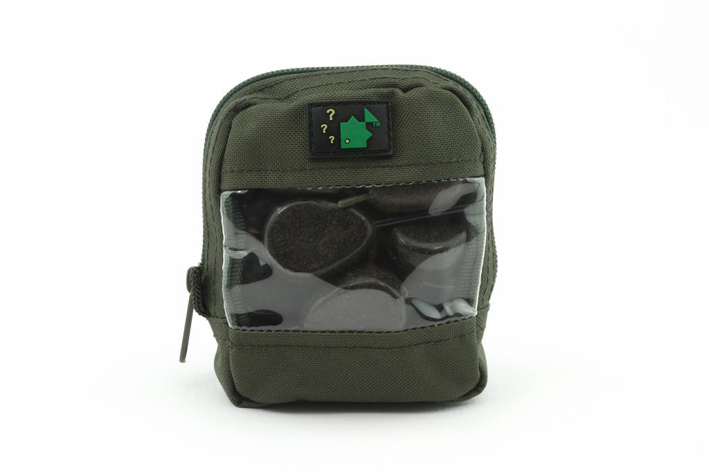 600D Clear Front Zip Pouch