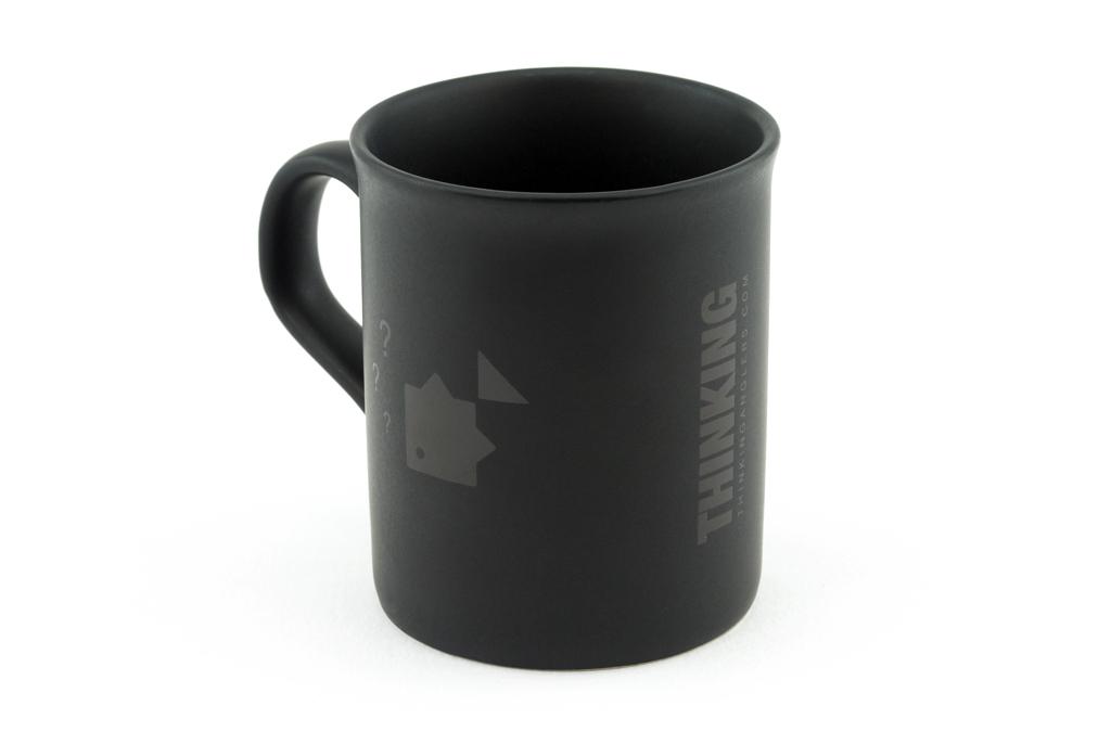 TA Matt Black Mug