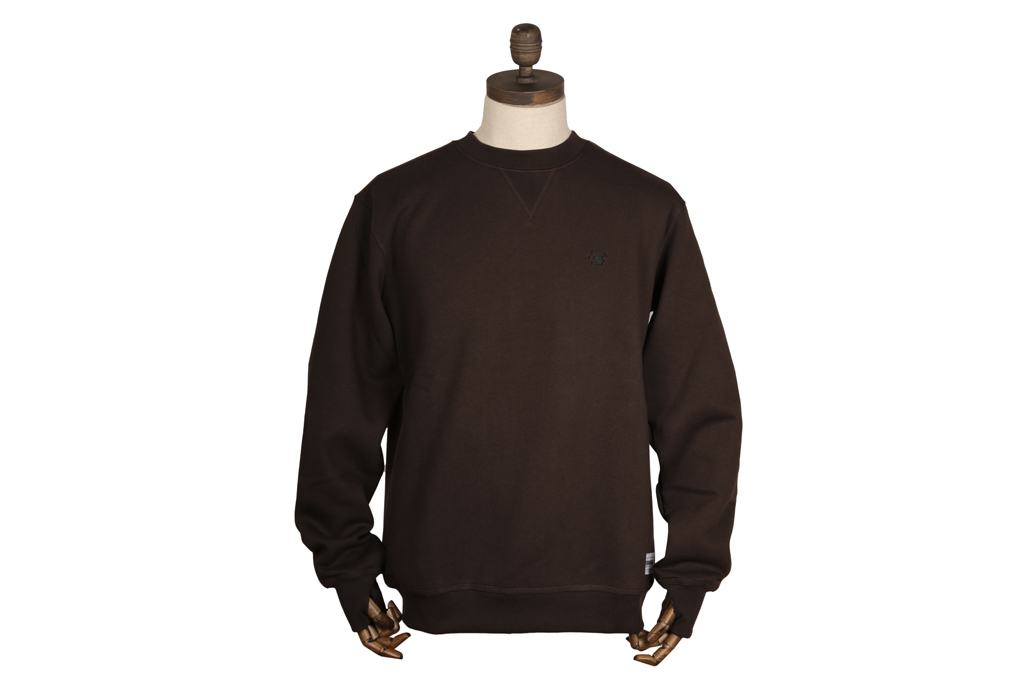 Crew Neck Brown