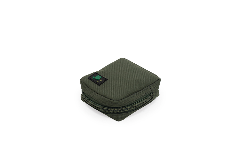 600D Medium Solid Zip Pouch