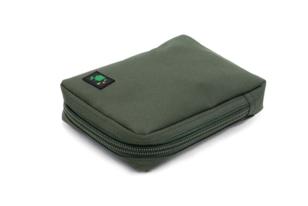 600D Large Solid Zip Pouch