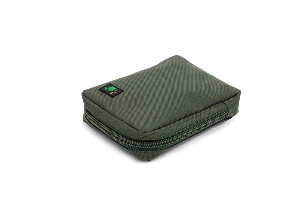 600D Large Solid Zip Pouch