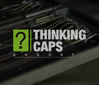 Thinking Caps – August